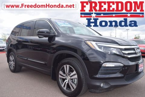 Pre-Owned 2016 Honda Pilot EX-L w/Rear Entertainment System AWD